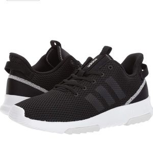 ADIDAS CLOUDFOAM RACER KNIT RUNNING SHOES 8.5